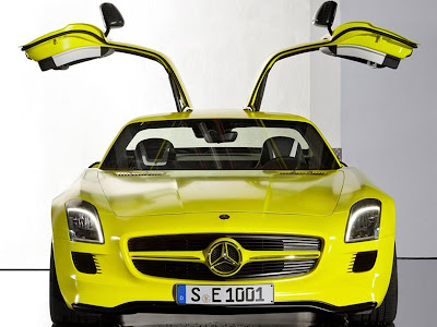 2010 Mercedes Benz Sls Amg E Cell Concept. Mercedes-Benz AMG E-Cell