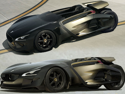 2011 Peugeot EX1 Abstraction Is An Electric Sport Cars Abstraction ...