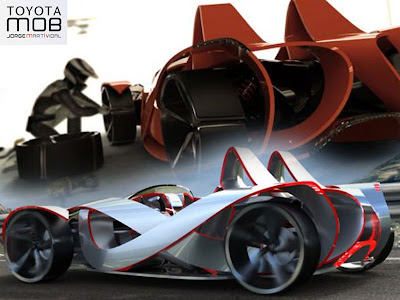 Mob Toyota Sports Cars Concept