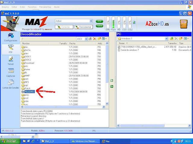-025 Como configurar CS no Azbox Elite via Mbox.