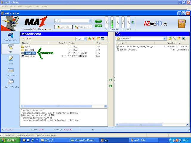 -026 Como configurar CS no Azbox Elite via Mbox.
