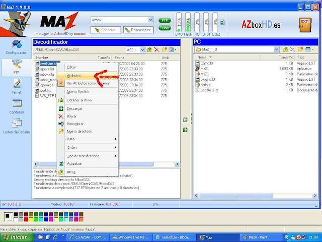 -031 Como configurar CS no Azbox Elite via Mbox.