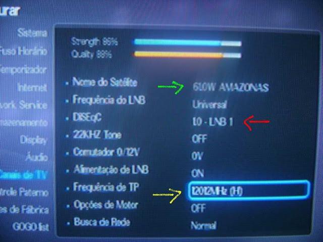 -043 Como configurar CS no Azbox Elite via Mbox.
