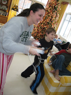 Wii action!