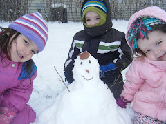 First snowman