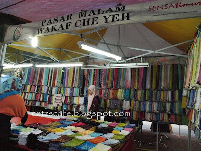 Wakaf Che Yeh Night Market Pasar Malam Wakaf Che Yeh