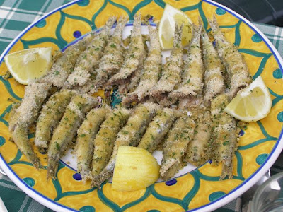 La Tavola Marche Recipe Box: Fried Anchovies with Sage