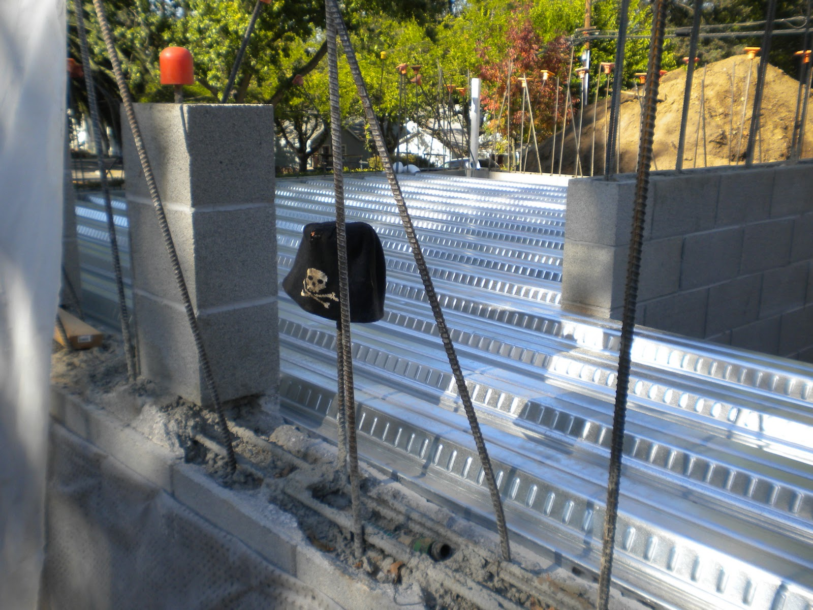 Jon\'s Blog: Construction status (slabs, cistern)