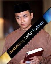 Support Saiful Bukhari