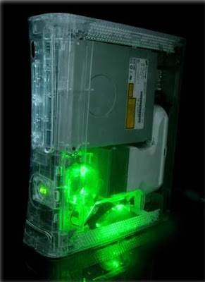 LED Case mod for Xbox 360