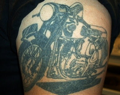 Look under topics like Harley Davidson tattoos, motorcycle tattoos,