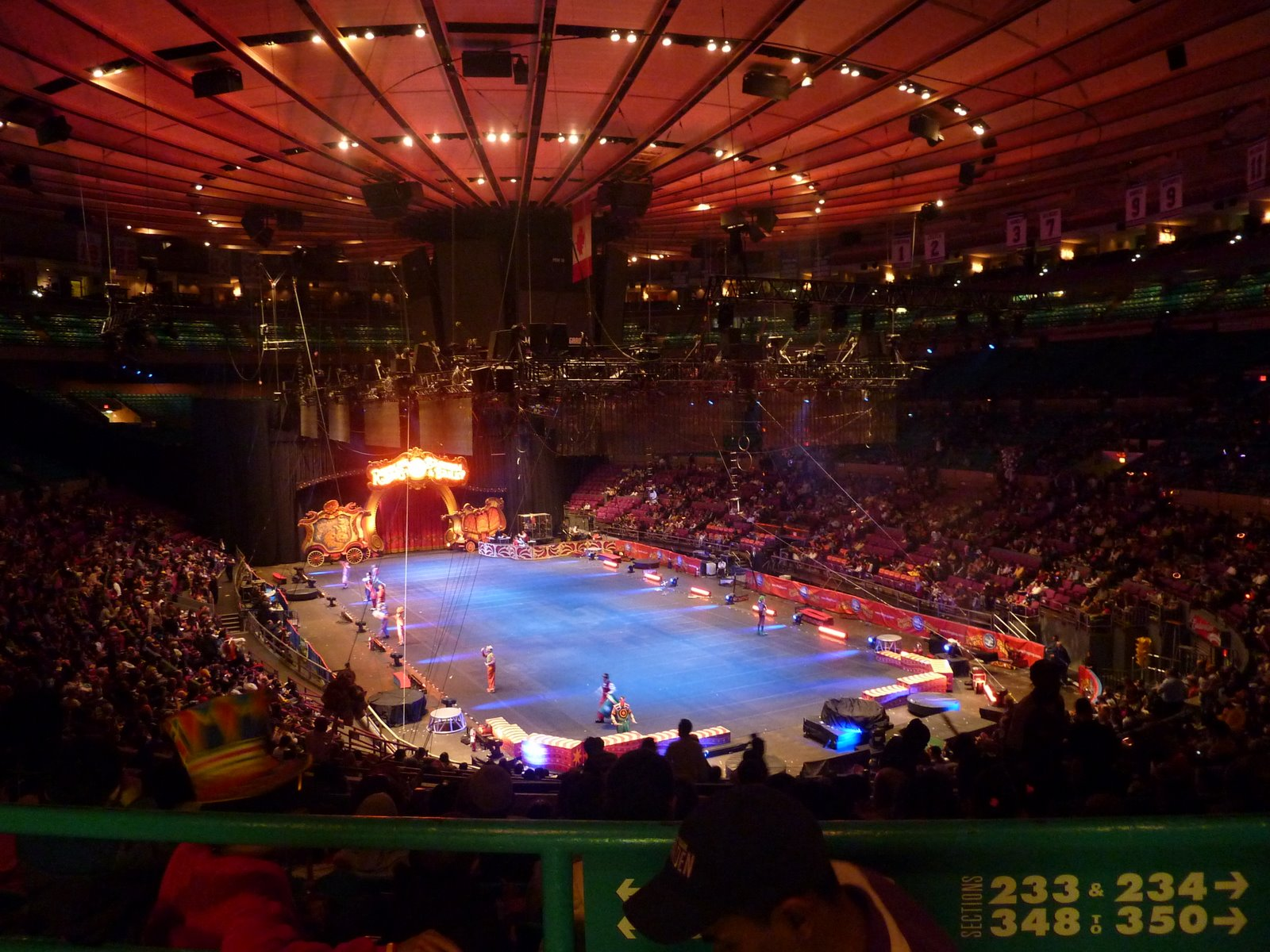 New York Madison Square Garden Cirque Barnum And Bailey