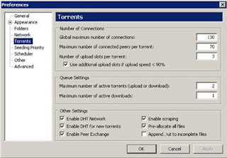 Torrent Settings