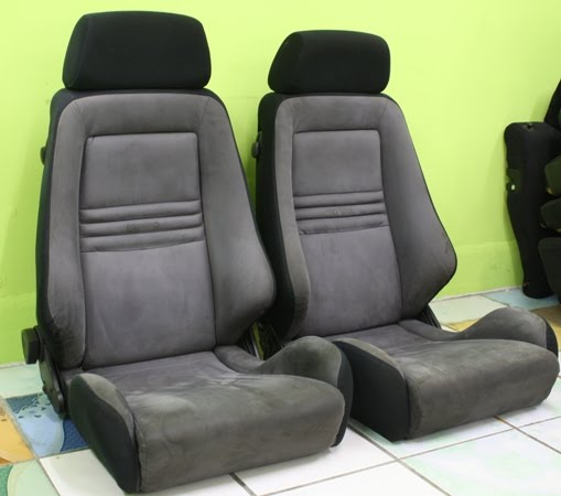 dingz garage seat recaro evo 1 complete. Black Bedroom Furniture Sets. Home Design Ideas