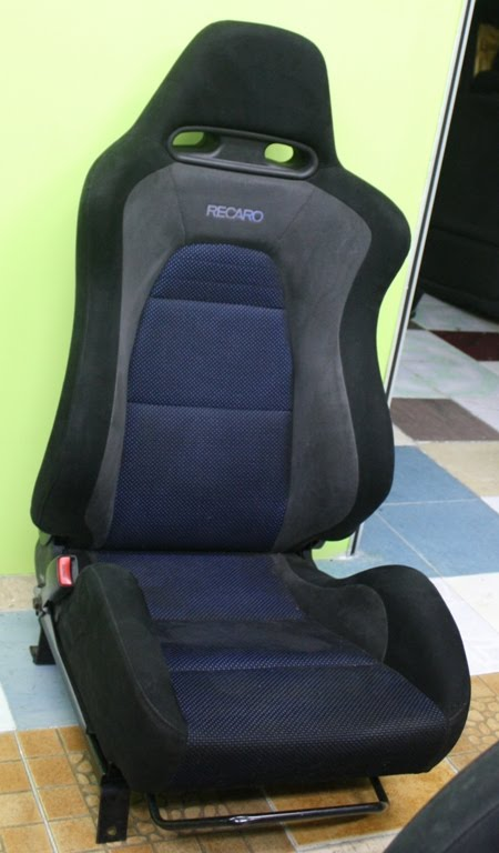 dingz garage seat recaro mitsubishi lancer evo 7. Black Bedroom Furniture Sets. Home Design Ideas