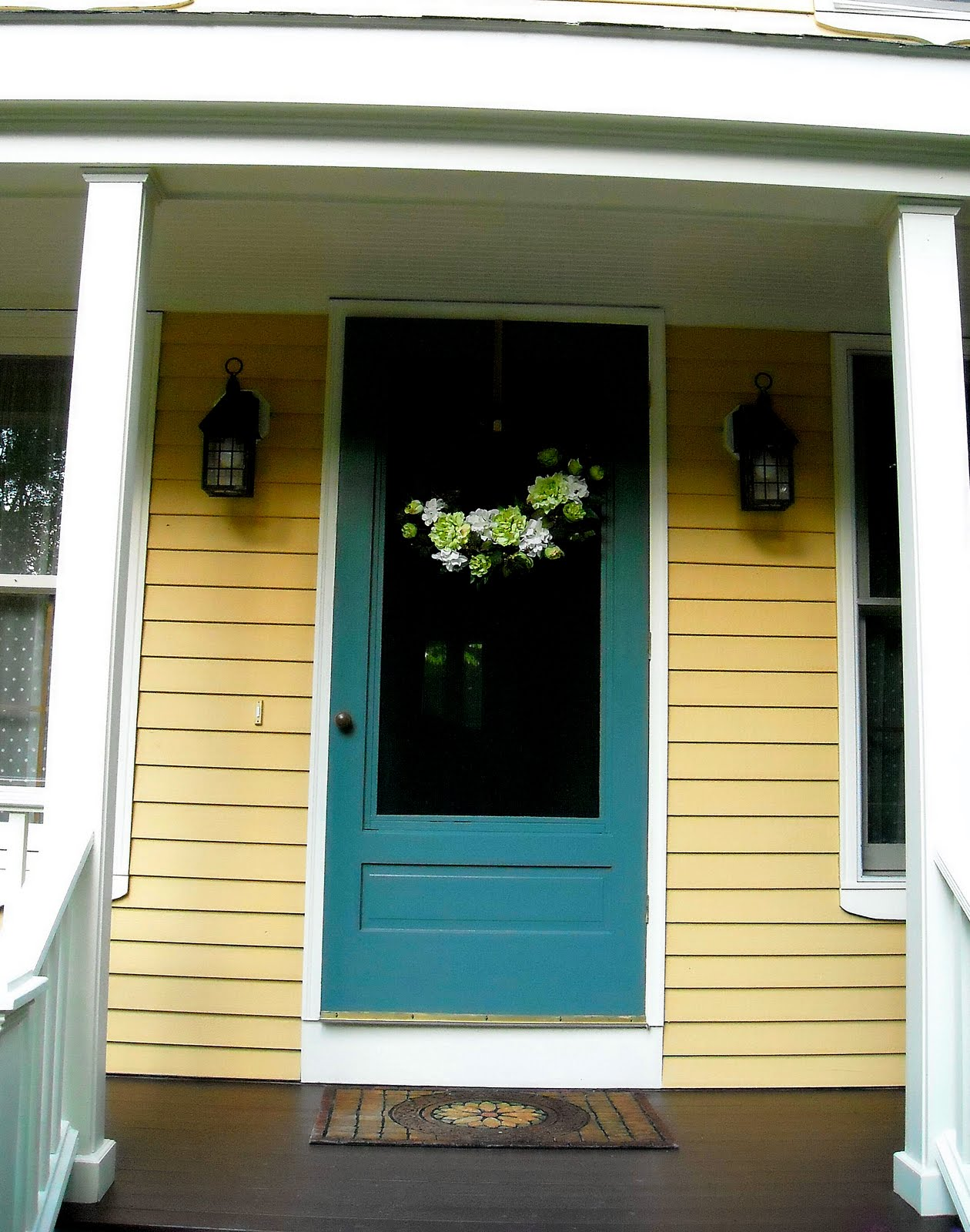 Front Door Colors For Yellow House | Home Design