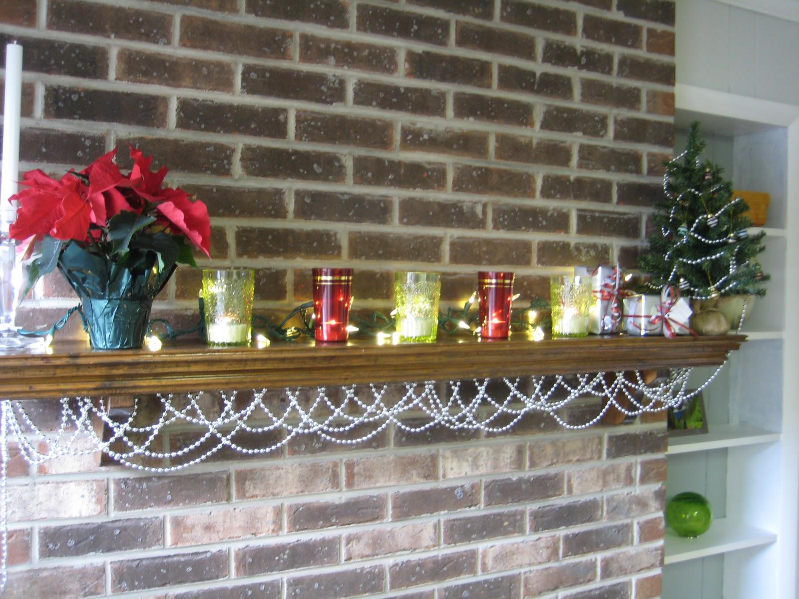 String Lights For Mantelpiece : Secret City Ranch: December 2010