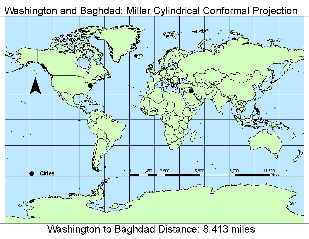 coordinate systems map projections in arcgis