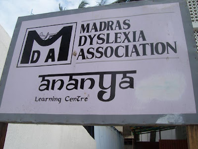 Madras Dyslexia Association for learning disability children