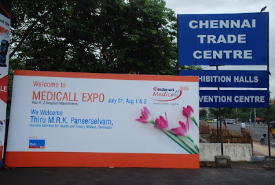 Medicall 2009 - India's largest medical equipment expo at Chennai title=