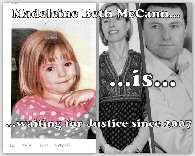 McCanns: Reopen the Case - Do the PJ Reconstruction, for your daughter!