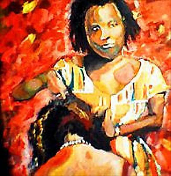 African American Salon Art
