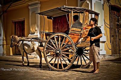 Vigan calesa, Ilocos Sur by Franklin Reyes Jr.