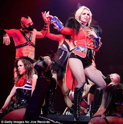 britney spears circus tour costumes. Circus costumes of Britney