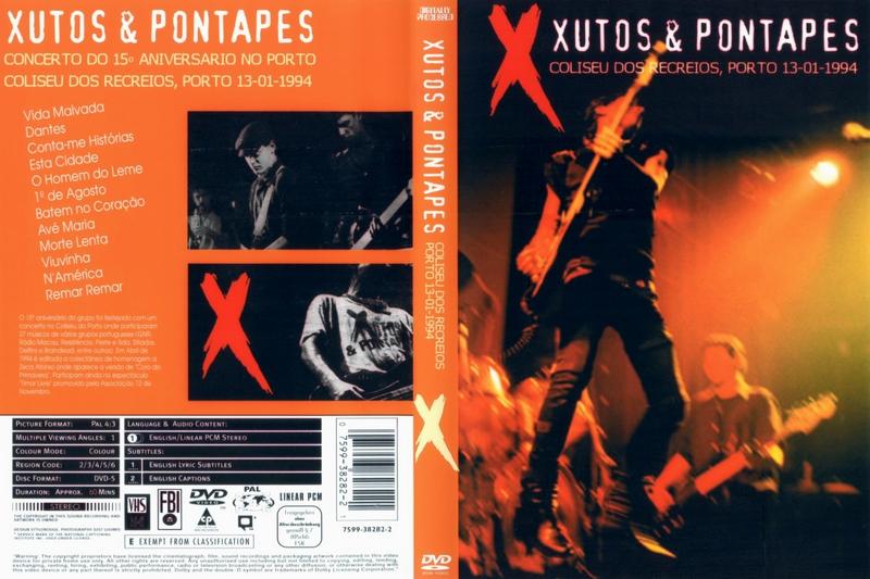 Xutos and Pontapés Negras Como A Noite
