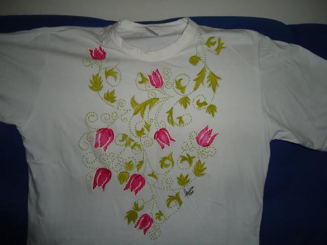 Pintura em tecido passo a passo fevereiro 2013 - Pintura para camisetas ...