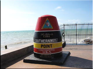 southern most part marker for United States