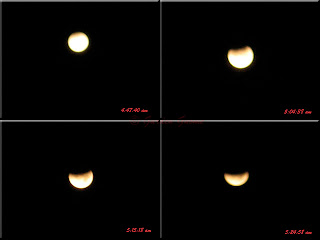 lunar eclipse starting
