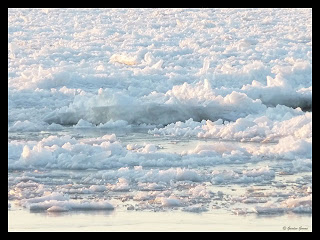 ice on the water