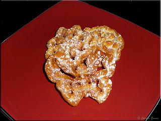 Scandinavian rosette cookies