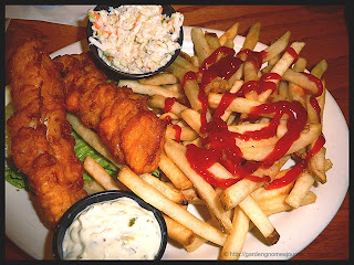 all you can eat fish 'n chips