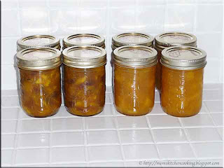 mango chutney and mango jam