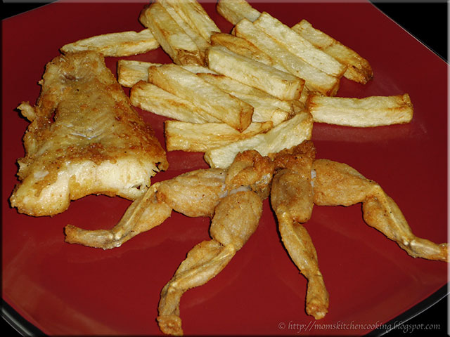 Mom's Cafe Home Cooking: Deep Fried Frog Legs