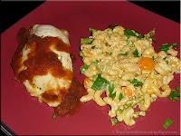 crunchy vegetable macaroni