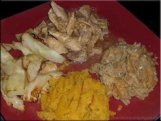 leftover turkey dinner