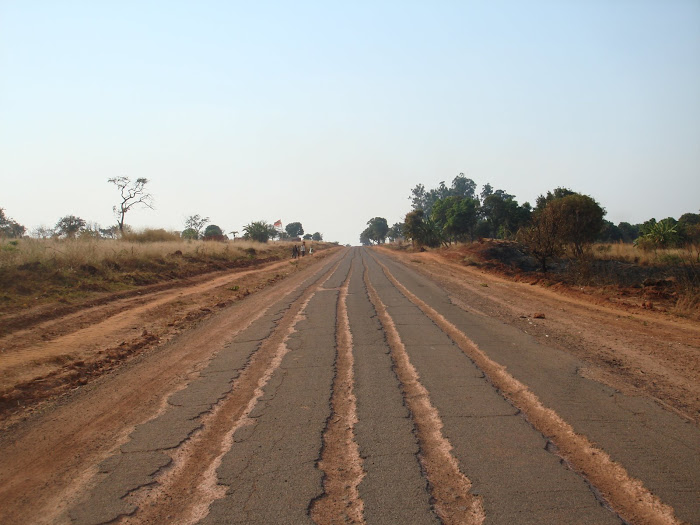 Driving in Angola