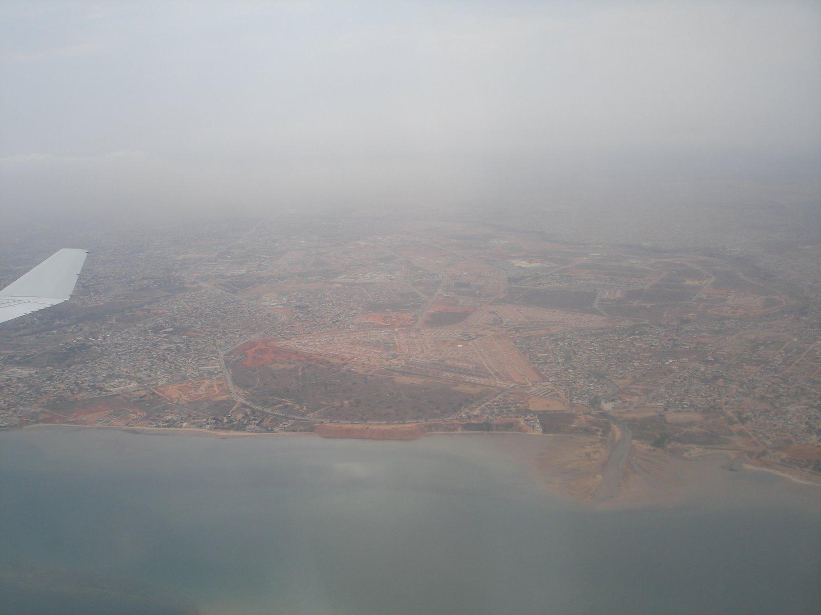 Vista mais ampla de Luanda