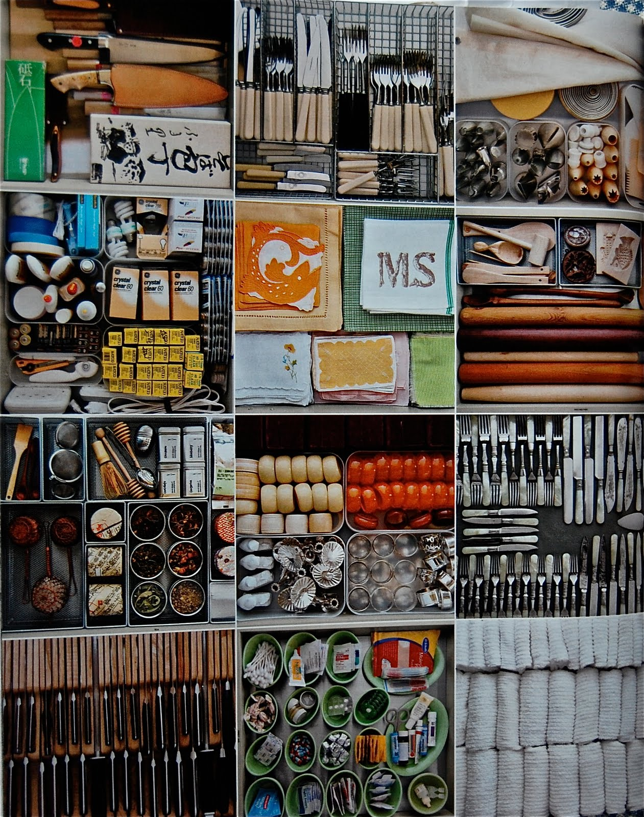 lovely Martha Stewart Kitchen Organization #8: Marthau0026#39;s kitchen drawers