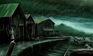 innsmouth cthulhu lovecraft horror art