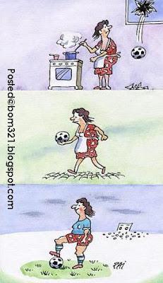 Ragam Perempuan Bila Dah Nak World Cup !