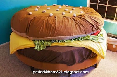 burger bed sleep