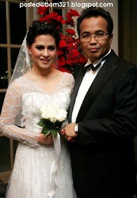 Gambar Perkahwinan Annahita Bakavolli Mehdi.
