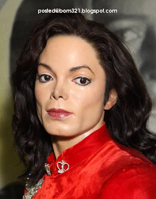wax statue of michael jackson