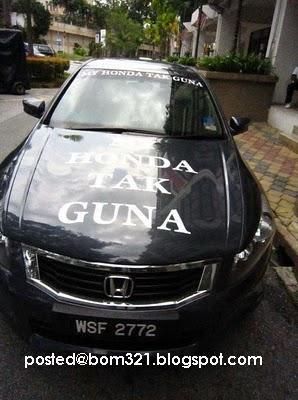 My Honda Tak Guna !