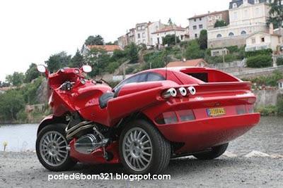 Cantuman Motosikal Dan Kereta Ferrari !