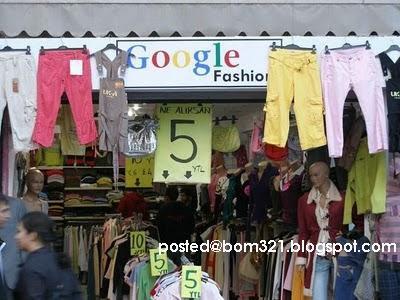 Google Sudah Buka Butik Pakaian !